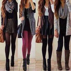 Really adorable outfits!