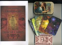 Lenormand Card Set in Decorative Tin by lesvieuxjours on Etsy, $35.00