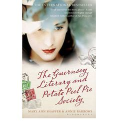 The Guernsey Literary and Potato Peel Pie Society by Mary Ann Shaffer & Anne Barrows - books set in world war two, books about friendship, epistolary novel, books that will make you cry. Book Club Reads, Book Club Books, Book Clubs, Read Books, Up Book, Love Book, Book Art, Mary Ann Shaffer, Potato Peel Pie Society