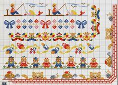 Gallery.ru / Фото #22 - A punto croce 23. Speciale bordure - Los-ku-tik