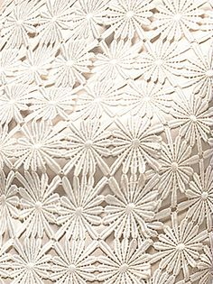 Daisy lace fabric from Dessy. Perfect for a spring wedding yes #wedding