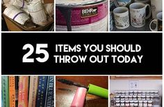 25 Items You Should Throw Out Today