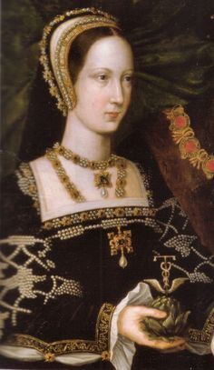 Mary Tudor, sister of Henry VIII on her marriage to the Charles Brandon, Duke of Suffolk.