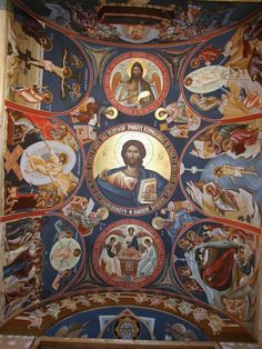 St Michael, Orthodox Icons, Byzantine Art, Painting, Art, Catholic Art, Fresco, Architecture Art