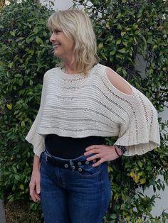Ravelry: Newport Summer Shrug pattern by Martha Lyons