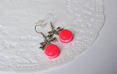 Boucles d'oreilles macarons macarons miniatures par LaFeeGourmande
