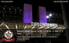 Uma visão geral sobre a BGS 2015, os desafios e futuro da feira. #VaoJogar #Reportagem #BGS #BGS2015 #BrasilGameShow #BrasilGameShow2015