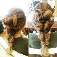 Hair up styles ♡