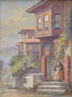 Orient House, Norman Rockwell, Bob Ross, Diorama, Istanbul, Places To Visit, Fine Art, Canvas, Drawings