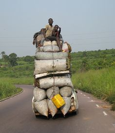Africa   Yes it is possible ! Photograph taken near Kinshasa, Democratic Republic of Congo