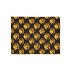 Igbo African Lion Pattern Area Rug $55.86 from #Saytoons