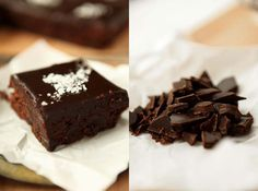 Delicious Chocolate Brownie With Sea Salt Recipe