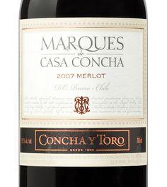 Marques de Casa Concha Merlot 2007 (01.fev.2012) Muito bom