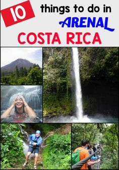 Visiting the Arenal and La Fortuna area in Costa Rica? Here are the top 10 things to do there! http://mytanfeet.com/activities/things-to-do-in-la-fortuna-and-arenal/