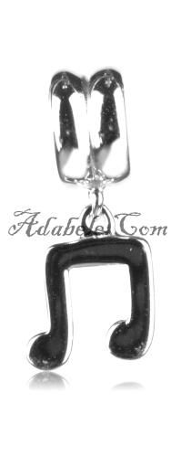This beautiful music note .925 Sterling Silver European charm fits Pandora, Biagi Trollbeads, Chamilia, and most charm bracelets find out more at adabele.com