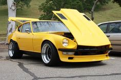 Datsun 240 Z - school ride in 1976