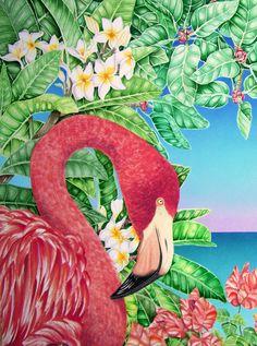 Flamingo by ~joeyartist on deviantART