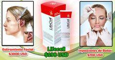 La crema Lifecell, mejor que el Botox y el lifting facial.  Infórmese más en http://lifecellskin.com.es
