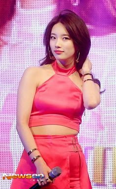 Miss A Suzy. She has always been gorgeous but I think that she's gotten prettier. Her face looks smaller in Only You