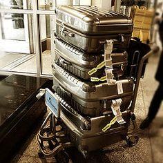 Retro luggage.