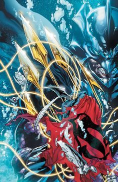 """The epic, full-length conclusion to """"THRONE OF ATLANTIS"""" hits as Aquaman and the League make a sinister discovery that changes both the outcome of the war and the future of the Justice League!  • What is THE GRID—and what does it mean to expanding the Justice League?  Written by:  Geoff Johns  Art by:  Ivan Reis  Joe Prado  Cover by:  Ivan Reis  Joe Prado"""