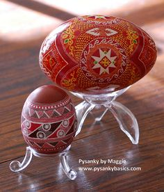 Lots of videos patterns and clear directions for every technique  needed to make beautiful pysanky (look under blog tips). http://www.pysankybasics.com/blog-tips.html