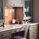 Office/Library Photo Gallery - KraftMaid Cabinetry | kraftmaid.com