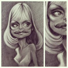 Caricature, Arts And Crafts, Instagram Posts, Craft Items, Art And Craft, Caricatures, Crafts, Caricature Drawing