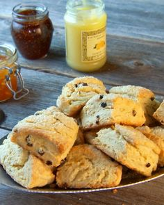 """Try serving these traditional English-style scones with butter, Devonshire cream, and jam. From the book """"Mad Hungry,"""" by Lucinda Scala Quinn (Artisan Books)."""