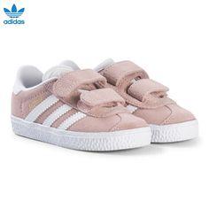 bc8818ed305 Pale Pink Gazelle Infants Velcro Trainers - adidas Originals - Babyshop