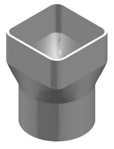 """The Drainage Products Store - PVC 6"""" x 6"""" x 6"""" SDR35 Downspout Adapter (Centered) (DSA x Spigot), $46.59 (http://stores.drainageproducts.us/pvc-6-x-6-x-6-sdr35-downspout-adapter-centered-dsa-x-spigot/)"""