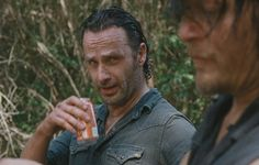 The Walking Dead Season 6 Episode 10 'The Next World' Rick Grimes and Daryl Dixon