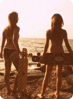 Longboard girls