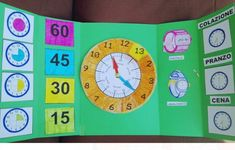 Lapbook orologio | Blog di Maestra Mile Games For Kids, Diy For Kids, Addition Activities, Learning Time, Telling Time, Home Schooling, Early Childhood Education, Classroom Themes, Homeschool