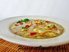 (via Fragrant Vanilla Cake: Raw Summer Vegetable Soup)   #healthy #vegetarian #vegan #recipes Find more healthy recipes @ http://standouthealth.com