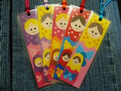 Matrioska bookmarks