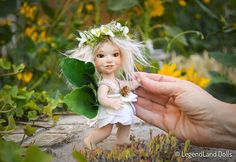Mini Fairy doll BJD doll by LegendLand Dolls #doll #fairy