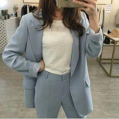 Workwear Fashion, Fashion Pants, Fashion Outfits, Fashion Blogs, Girl Fashion, Fashion Trends, Fashion Fashion, Winter Fashion, Corporate Attire Women