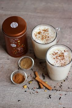 As you understand I've simply returned from a keep in London. I knew Chaï Tea Latte because of my pal Caroline who made me one … Chaï Tea Latte, Gourmet Recipes, Sweet Recipes, Cake Recipes, Nespresso Recipes, Cuisines Diy, Chai Recipe, Kakao, Coffee Recipes