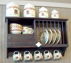 Country Cottage Farmhouse Primitive WIDE PLATE RACK order color u0026 finish choices. $135.00 via & Custom Primitive Plate Rack Made To Order | Primitive plates Plate ...