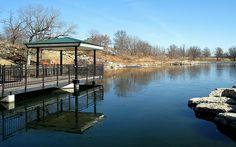 Stephens Lake Park in Columbia, MO. So beautiful and peaceful.