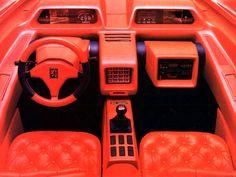 1986 Peugeot Proxima concept oh god my eyes