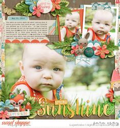 Woodland Spring by Amber Shaw & Kristin Aagard Cindy's Layered Templates - Half Pack 183: Photo Focus 83 by Cindy Schneider