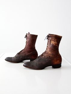 Victorian women's boots