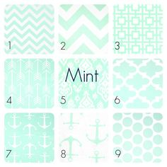 Mint Green Curtain Panels. 25 or 50 Widths. 63 by thebluebirdshop
