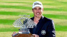 Brooks Koepka Wins Waste Management Phoenix Open - Eighteen Under Par Golf Trophies, Brooks Koepka, Champions Trophy, Phoenix, Management