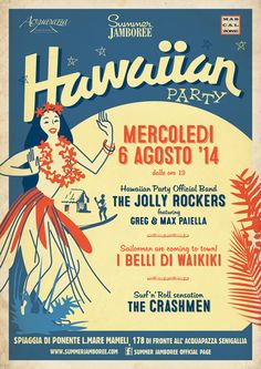 HAWAIIAN PARTY!