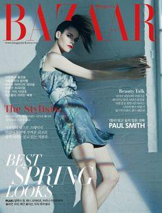 Meghan Collison by James Macari for Harper's Bazaar Korea April 2014