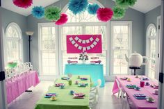 The Blue House Chronicles: Elizabeth's American Girl Party
