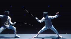 This awesome video teaches us how to appreciate fencing.